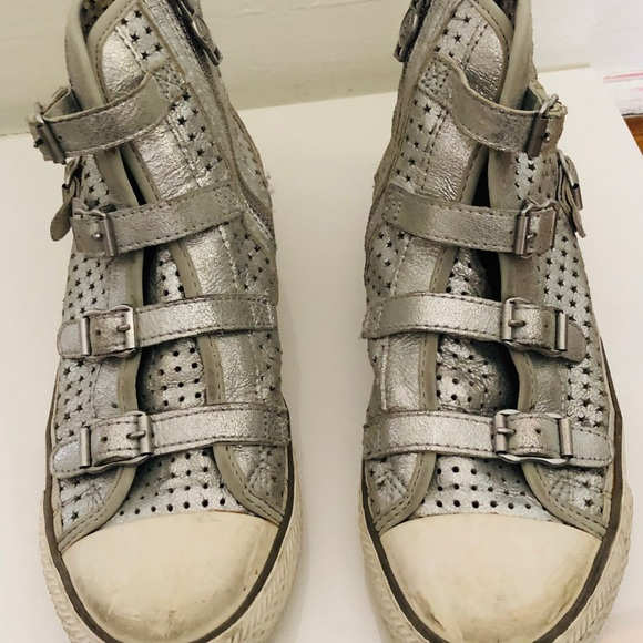 Ash Shoes - Ash Silver star sneakers